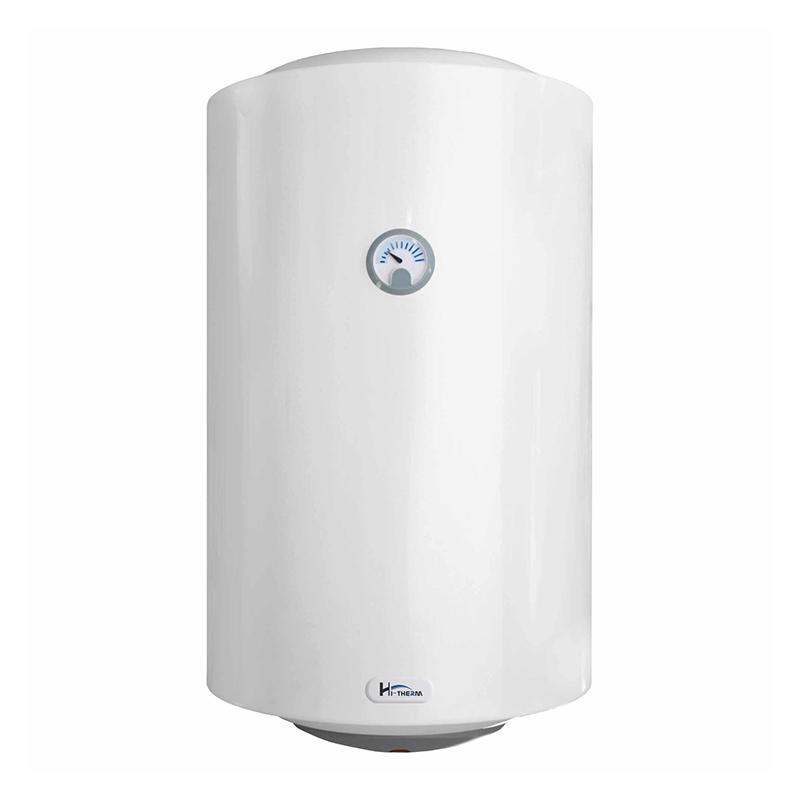 Boiler electric Hi-GlassTech, 80 l, 1500 W, 8 bar, cablu alimentare inclus, Alb shopu.ro