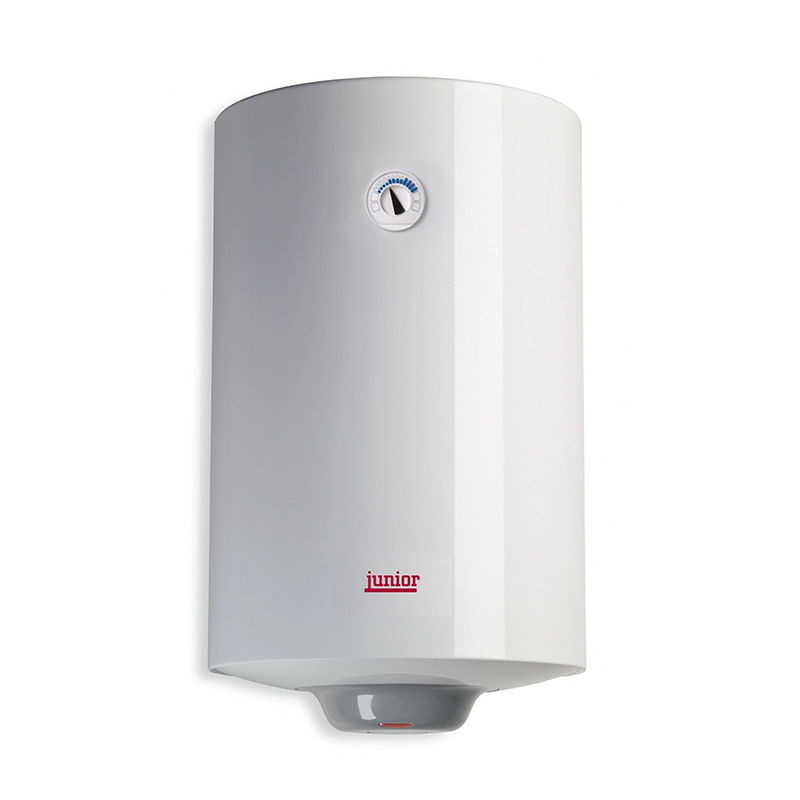 Boiler electric Junior, 100 l, 1200 W, 8 bar, termostat mecanic, supapa hidraulica, functie anti-inghet, Alb shopu.ro