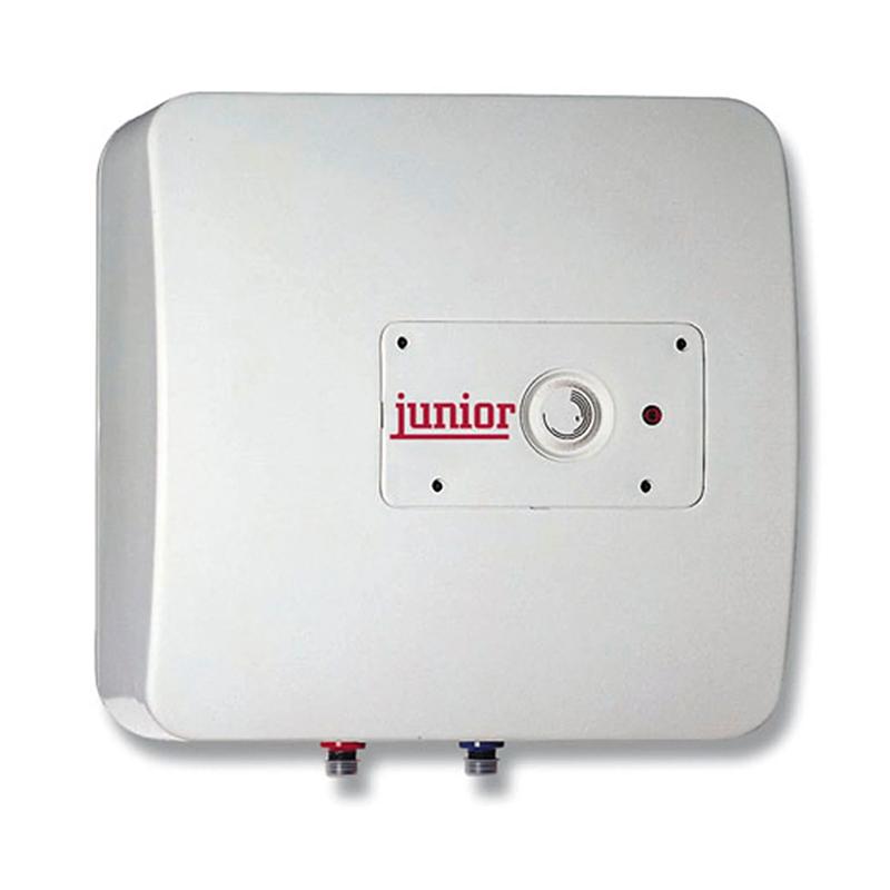 Boiler electric Junior, 15 l, 1200 W, 8 bar, termostat mecanic, supapa hidraulica, functie anti-inghet, Alb 2021 shopu.ro