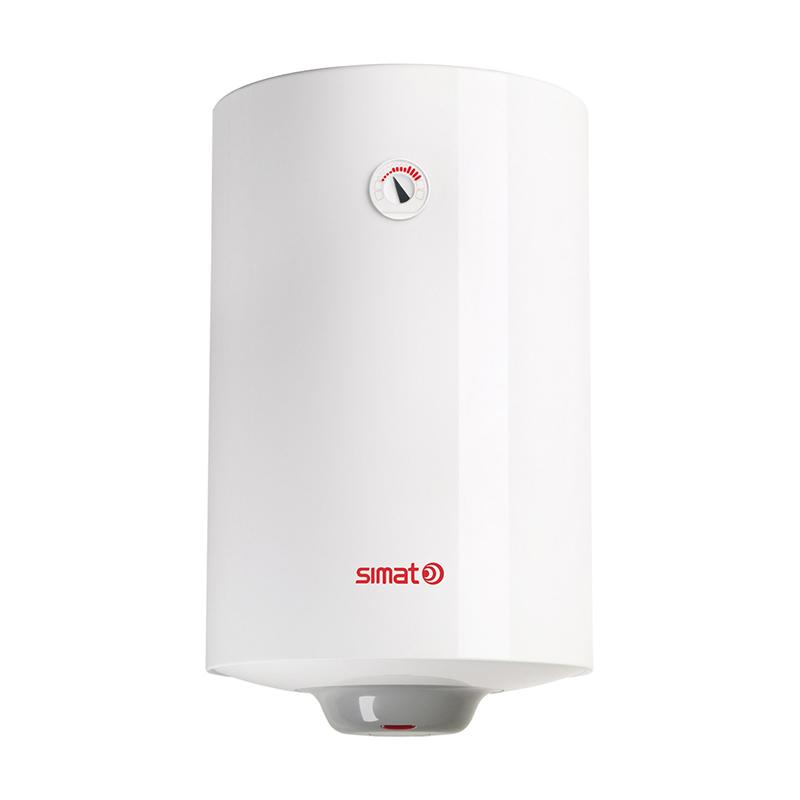 Boiler electric Simat, 1200 W, 100 l, 8 bar, 45 x 48 x 91 cm, Alb 2021 shopu.ro