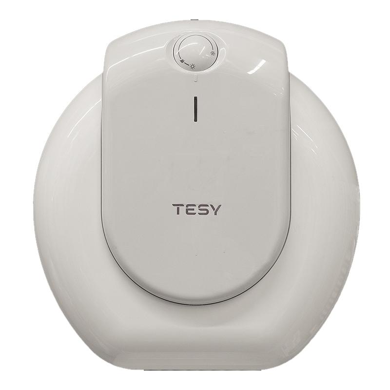 Boiler electric Tesy Compact, 15 l, 1500 W, 39.9 x 37.7 x 30.4 cm, cablu alimentare inclus, termostat ajustabil, Alb shopu.ro
