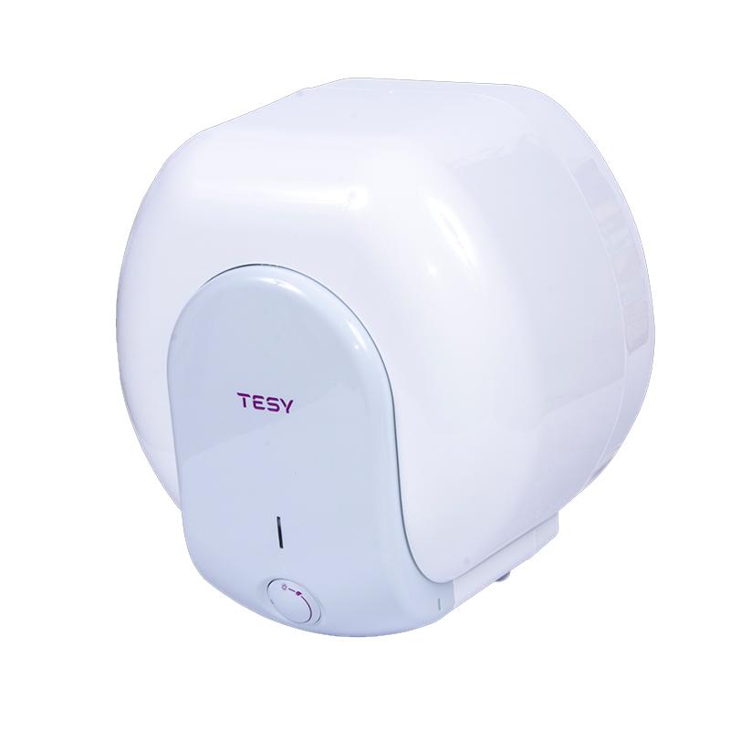 Boiler electric Tesy Compact, 15 l, 1500 W, 39.9 x 37.7 x 30.4 cm, panou mecanic, sticla ceramica, Alb 2021 shopu.ro