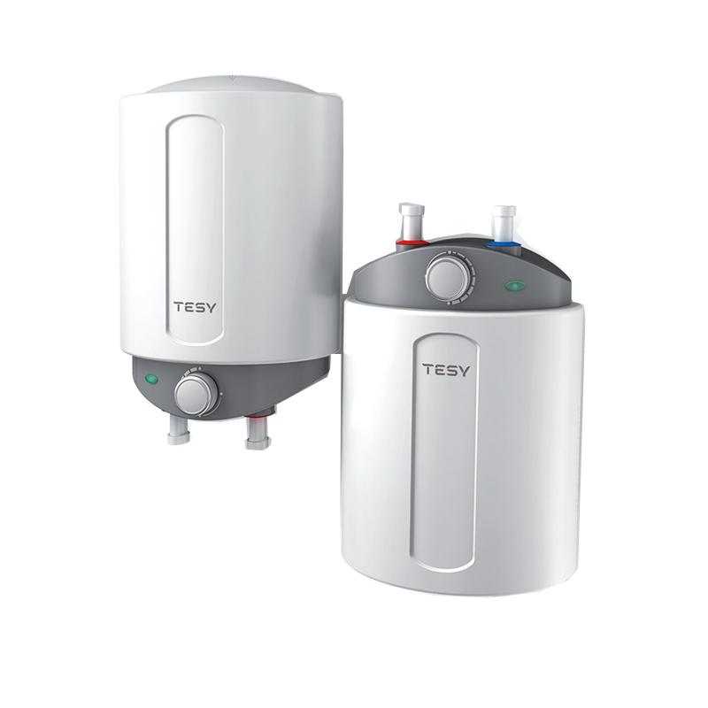 Boiler electric Tesy Compact, 6 l, 1500 W, 25.6 x 16 x 36.5 cm, termostat reglabil, sticla ceramica, Alb 2021 shopu.ro