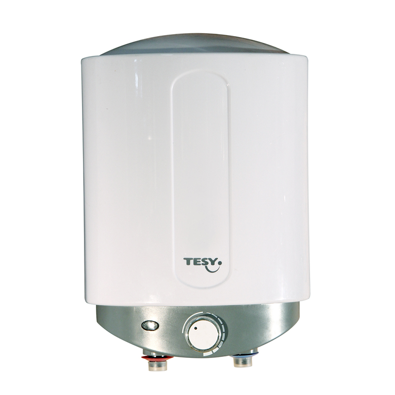 Boiler electric Tesy Compact Line, 1500 W, 6 l, 16 x 36.5 x 26.5 cm, sticla ceramica, cablu alimentare inclus, Alb shopu.ro