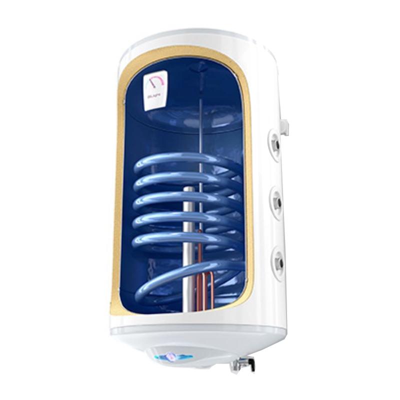 Boiler termoelectric cu serpentina Tesy BiLight, 150 l, 2000 W, 44 cm, termostat reglabil, cablu alimentare inclus, Alb 2021 shopu.ro