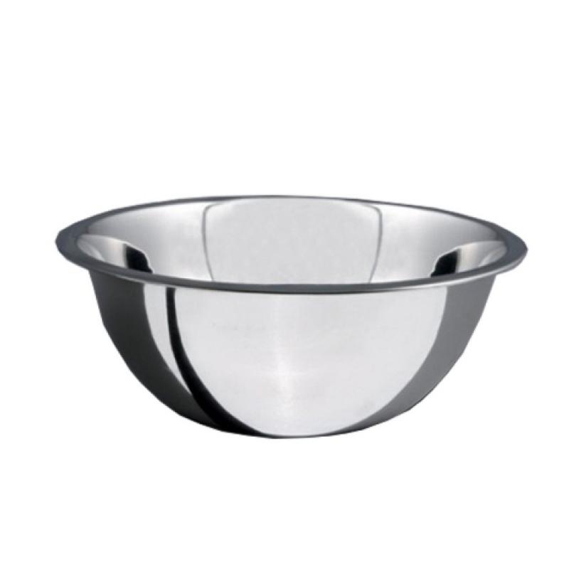 Bol Salvinelli, 24 cm, adanc, oval, inox, Argintiu 2021 shopu.ro