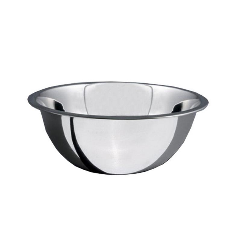 Bol Salvinelli, 32 cm, adanc, oval, inox, Argintiu 2021 shopu.ro