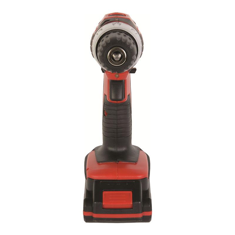Masina de gaurit cu acumulator Raider, 1250 rpm, 18 V, 1.5 Ah, 26 Nm, valiza accesorii