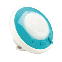 Boxa Bluetooth Konig, impermeabila, Albastru/Alb