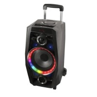 Boxa bluetooth portabila NGS Wilddisco, 80 W, negru