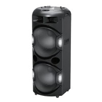 Boxa activa bluetooth Akai, 350 W, dual USB, card SD, plafon laser, microfon wireless, telecomanda