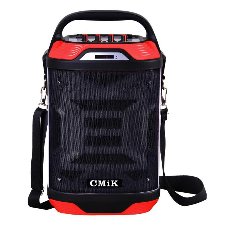 Boxa audio activa cu radio CMiK MK-B21, acumulator incorporat