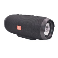 Boxa bluetooth Charge3, 20 W, 6000 mAh, USB, functie powerbank, microfon integrat, Negru