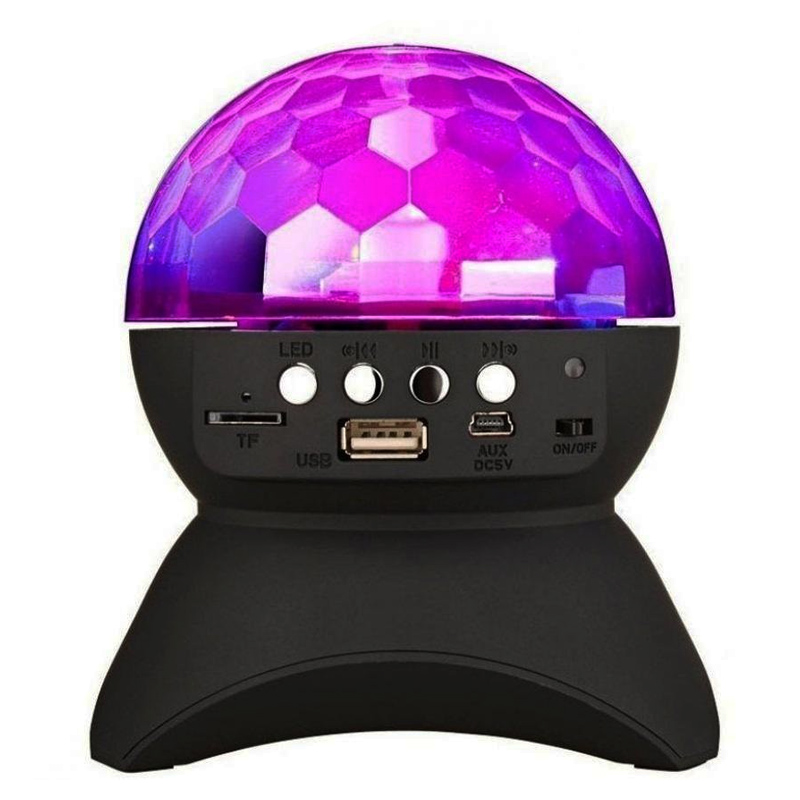 Boxa bluetooth tip glob rotativ L-740, USB, MP3, micro SD 2021 shopu.ro