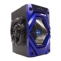 Boxa portabila bluetooth XY-23, lumini LED, slot card SD, USB