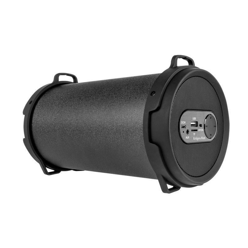 Boxa portabila Bluetooth Kruger Matz Joy, 12 W, negru 2021 shopu.ro