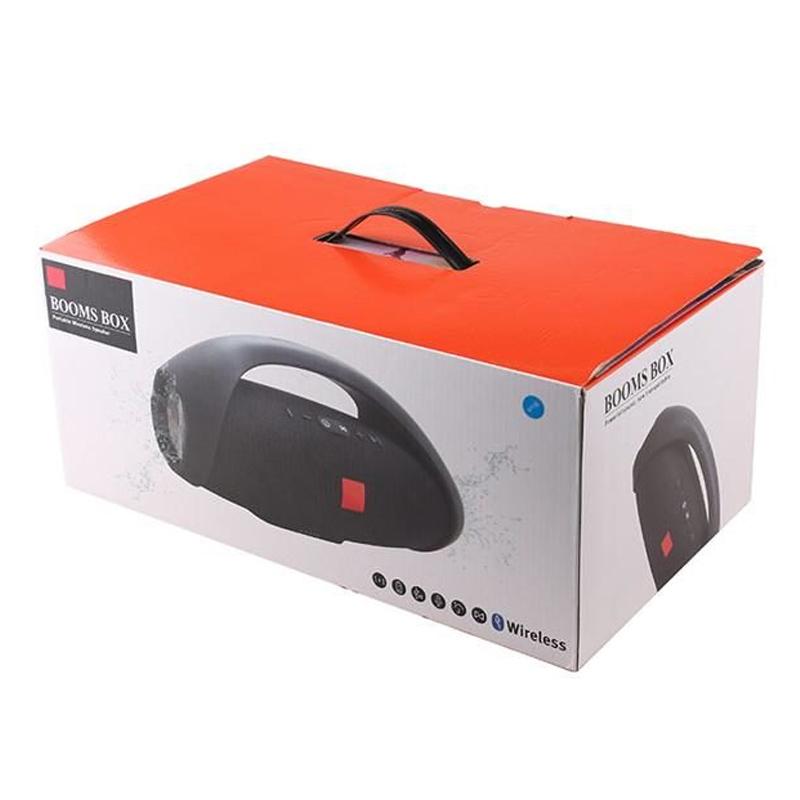 Boxa portabila bluetooth Boom Box, 20000 mAh Li-ion, 2 x USB, IPX7 waterproof, Negru