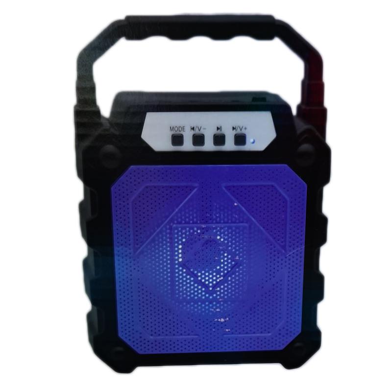 Boxa portabila CL-92B, 1200 mAh, suport card TF, radio FM, USB, Negru 2021 shopu.ro