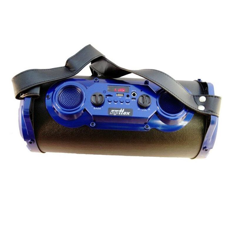 Boxa portabila Digittex 6610, acumulator, radio FM, 25 W