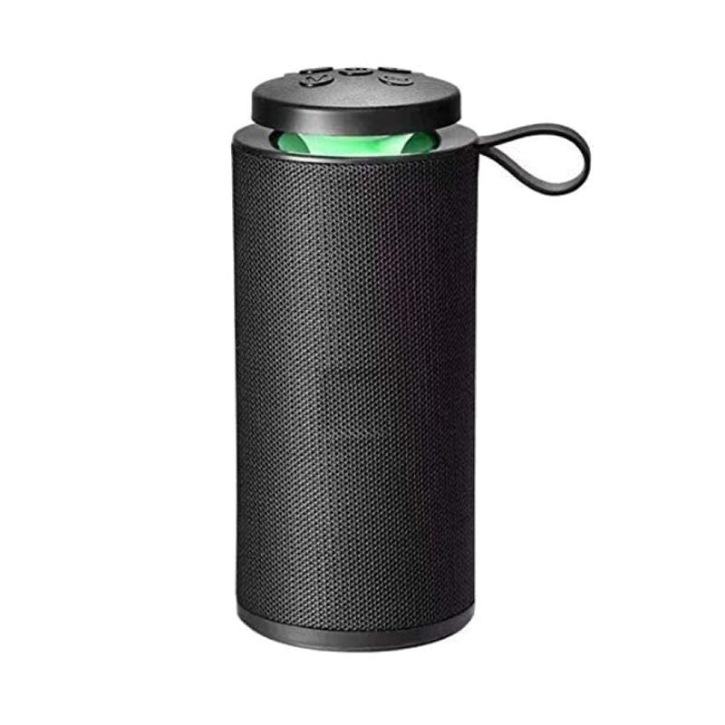 Boxa portabila Portable GT-112, 1800 mAh, 20 m, lumina LED, microfon 2021 shopu.ro