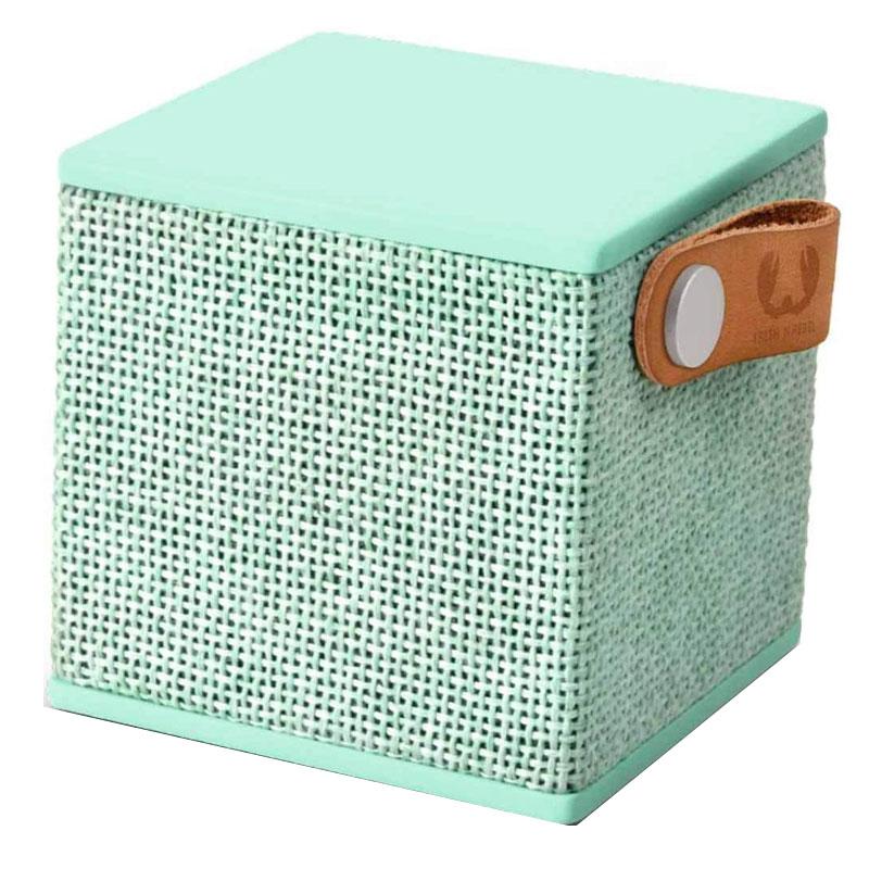 Boxa portabila Rockbox Cube Fabriq Fresh & Rebel, 3 W, 500 mAh, bluetooth, jack 3.5 mm, Verde 2021 shopu.ro