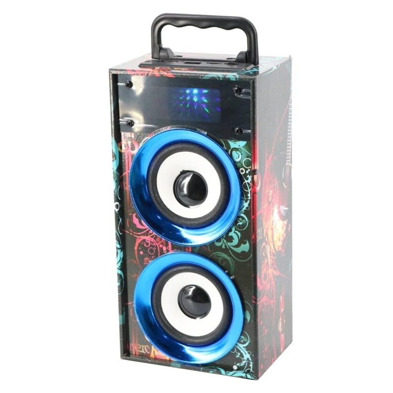 Boxa portabila WKS-669B,10 m, slot cardSD, USB, radio FM 2021 shopu.ro