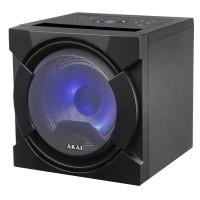 Boxa portabila activa Akai, 30 W, Bluetooth 4.2, USB, radio FM, cardSD, telecomanda