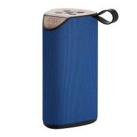 Boxa portabila bluetooth Extra Bass, 10 W, intrare USB, acumulator, Albastru