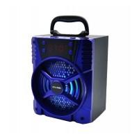 Boxa portabila bluetooth KTS-1038C, 10 W, USB, 1200 mA, LED, Negru
