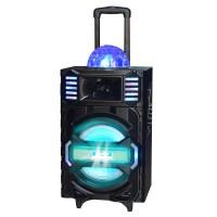 Boxa karaoke tip troler Icarus IC-SS23, USB, lumini
