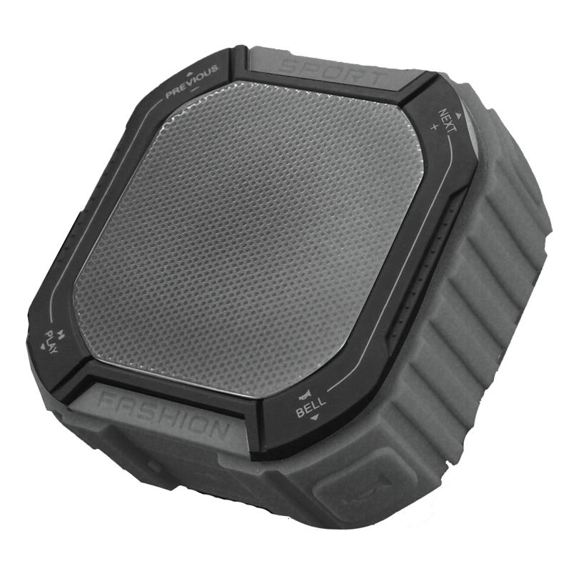 Boxa portabila pentru exterior Akai, 5 W, 800 mAh, Bluetooth 4.1, 10 m, jack 3.5 mm, acumulator, Negru 2021 shopu.ro