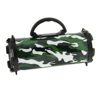 Boxa portabila reincarcabila MH-520BT, radio FM, USB, suport card SD, Army