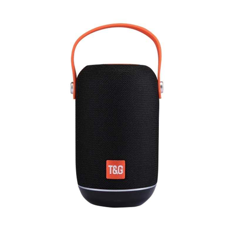 Boxa portabila reincarcabila T&G TG107, bluetooth, suport card SD