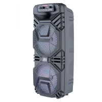 Boxa profesionala JRH A2803, 2400 mAh, USB, microfon wireless, telecomanda