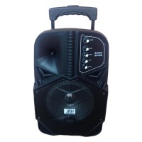 Boxa tip troler JRH A85, 1800 mAh, USB, microfon wireless