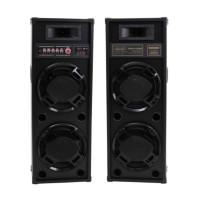 Boxe Active Temeisheng 2308, 600 W, Bluetooth, 4 Ohm, Echo/Bass/Treble
