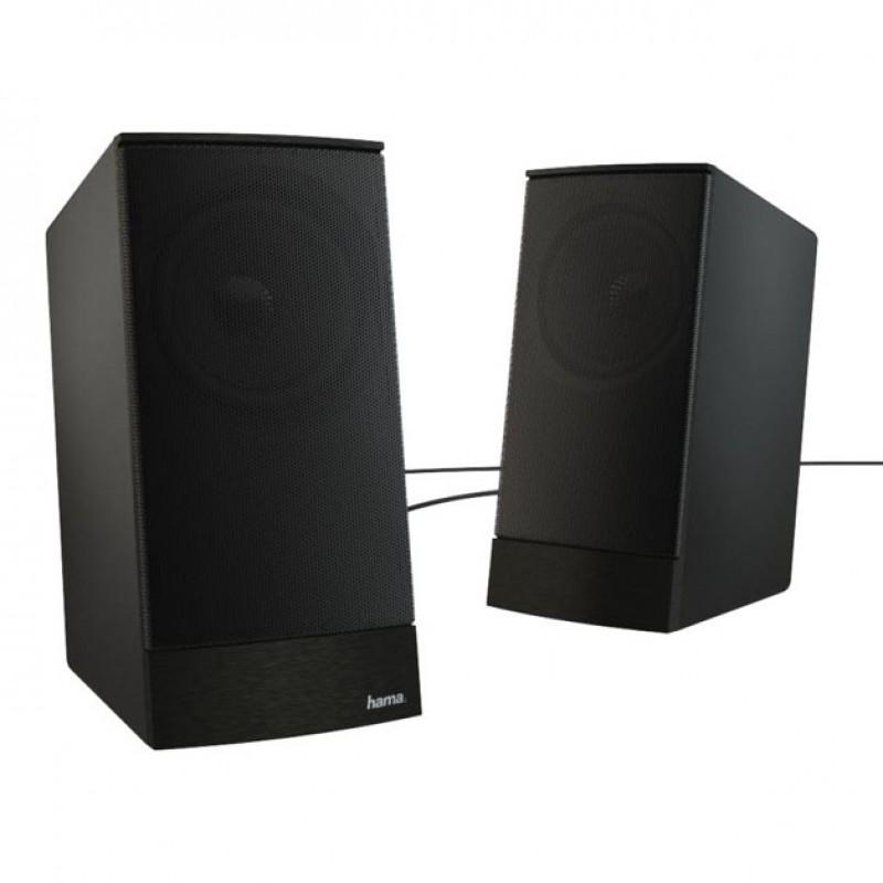 Boxe pentru PC Hama Sonic LS-208, 8 W, 4 ohmi, Negru 2021 shopu.ro