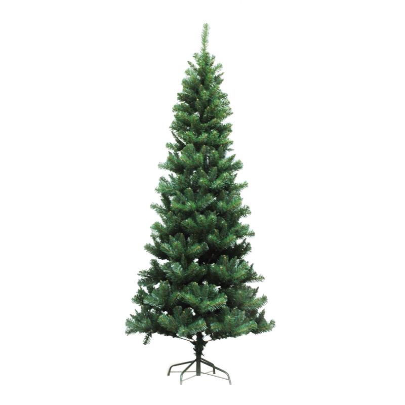 Brad verde 758 crengute, 2.10 m, suport inclus shopu.ro