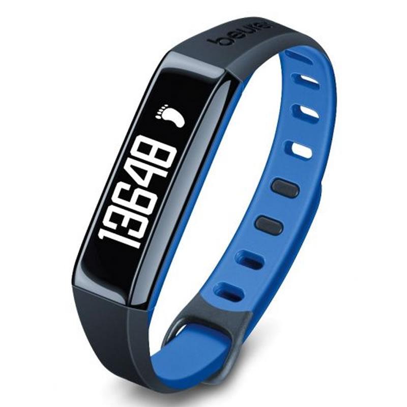 Bratara monitorizare activitate fizica Beurer AS80C, stocare 30 zile, albastru 2021 shopu.ro