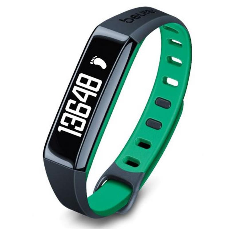 Bratara monitorizare activitate fizica Beurer AS80C, stocare 30 zile, verde 2021 shopu.ro