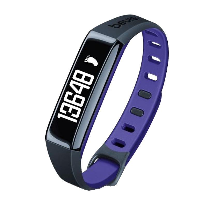Bratara monitorizare activitate fizica Beurer AS80C, stocare 30 zile, violet 2021 shopu.ro