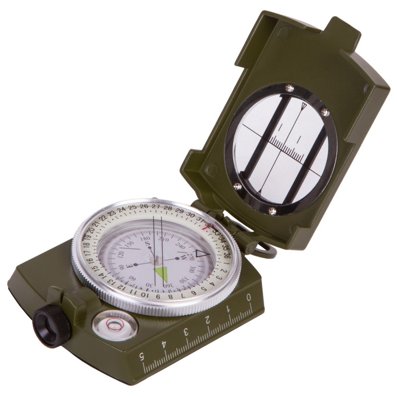 Busola profesionala Army Compass, filet trepied, nivela, inclinometru incluse 2021 shopu.ro