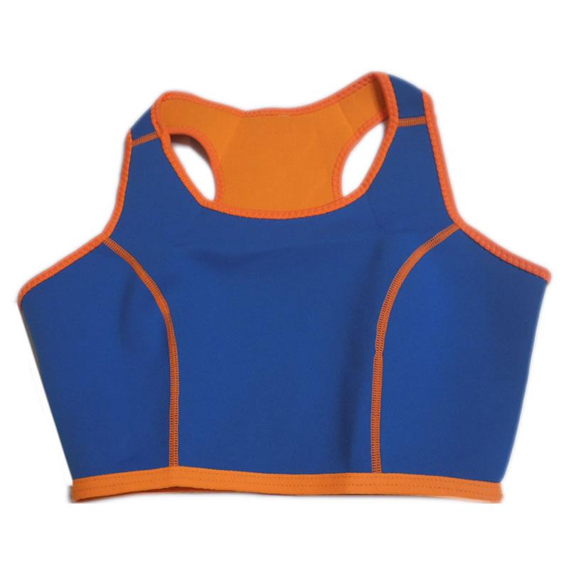 Bustiera fitness din neopren YC-6054, marimea XL 2021 shopu.ro
