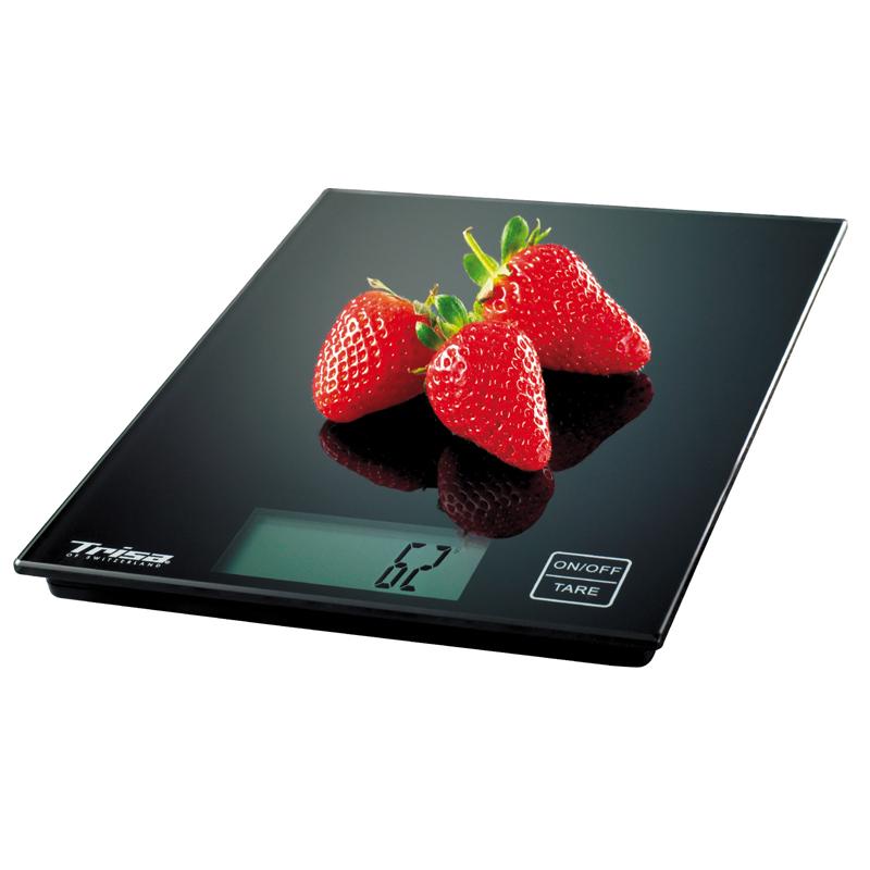 Cantar bucatarie Easy Weight Trisa, 5 kg, ecran Lcd, Negru 2021 shopu.ro