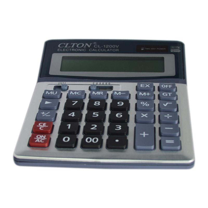 Calculator electronic CLTON CL-1200V, 12 cifre 2021 shopu.ro