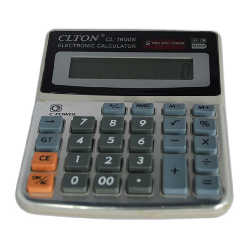 Calculator electronic CLTON CL-1800S, 12 cifre 2021 shopu.ro