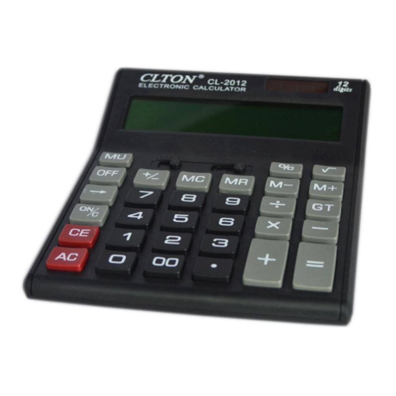 Calculator electronic CLTON CL-2012, afisaj mare 2021 shopu.ro