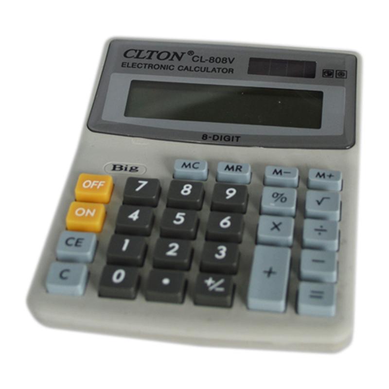 Calculator electronic CLTON CL-808V, 8 cifre 2021 shopu.ro