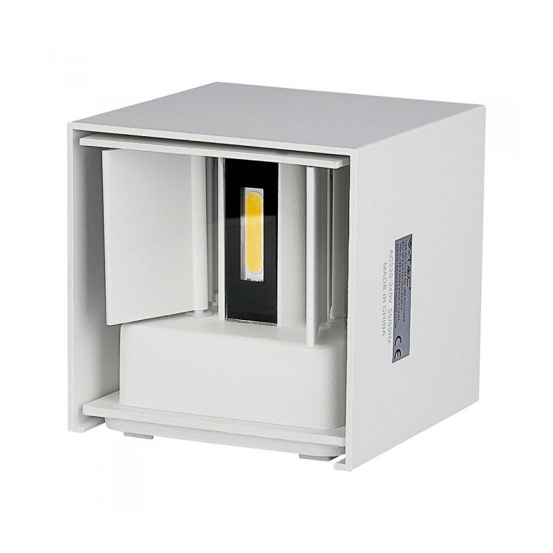 Corp de iluminat LED, 12 W, 1100 Im, 3000 K, lumina alb calda, aluminiu shopu.ro