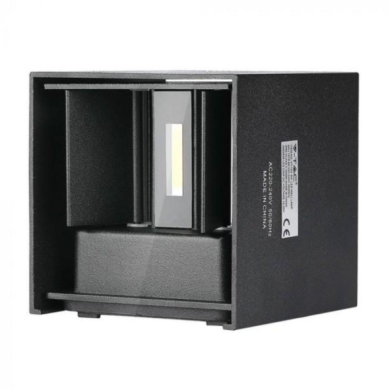 Corp de iluminat LED, 6 W, 660 Im, 3000 K, lumina alb calda, aluminiu shopu.ro